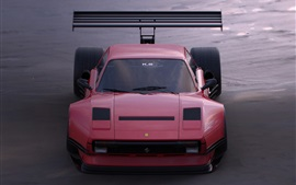 페라리 핑크 초차