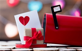 Preview wallpaper Gift, love, mailbox, romantic