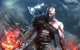 Preview wallpaper God of War 4, video games