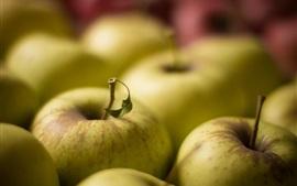 预览壁纸 青苹果,新鲜水果