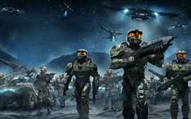 Preview wallpaper Halo Wars, video games