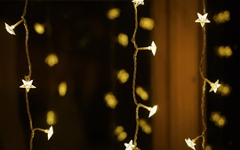 Preview wallpaper Holiday lights, stars