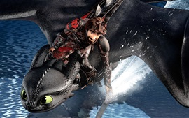 Preview wallpaper How to Train Your Dragon: The Hidden World