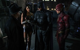 Justice League, Wonder Woman, Batman, The Flash
