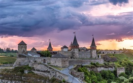 Preview wallpaper Kamianets-Podilskyi fortress, castle, Ukrainian