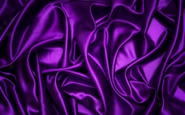 Preview wallpaper Purple fabric, texture, silk