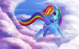 Preview wallpaper Rainbow Dash, My Little Pony: Friendship is Magic
