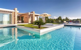Preview wallpaper Spain, Ibiza, villa, pool