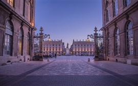Stanislas Square, dusk, Nancy, France