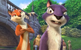 Preview wallpaper The Nut Job 2, cartoon movie