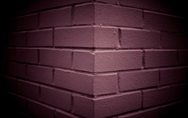 Preview wallpaper Wall, bricks, darkness