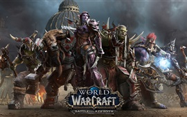 Preview wallpaper World of Warcraft: Battle for Azeroth, hot game