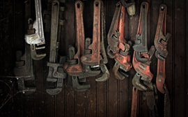 Preview wallpaper Wrenches, work tools