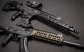 Preview wallpaper AR-15 assault rifle, weapons