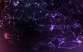 Malha abstrata, vetor, violeta