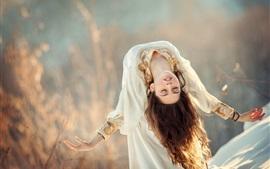Anna Melnikova, a princesa de cisne, dança