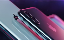 Preview wallpaper Apple, iPhone X