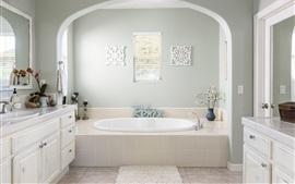 Bathroom, white style