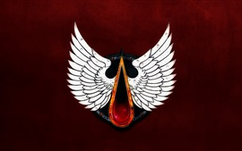 Preview wallpaper Blood Angels, Warhammer 40000, wings