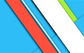 Preview wallpaper Blue and red lines, layers