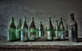 Bottles, dust