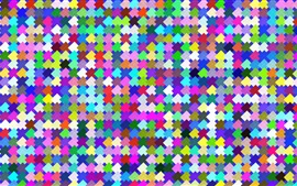 Preview wallpaper Colorful squares texture background