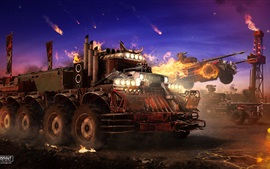 Preview wallpaper Crossout, devil truck, net game