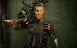 Preview wallpaper Deadpool 2, cyborg, man