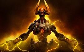 Vorschau des Hintergrundbilder Doom, Monster, mächtig