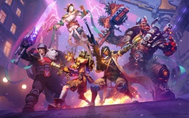 Preview wallpaper Heroes of the Storm, Overwatch, art picture
