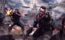 Homefront: The Revolution, soldiers