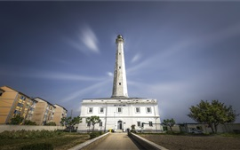 Italy, Abruzzo, lighthouse