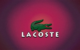 Preview wallpaper Lacoste logo, crocodile