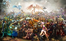 Preview wallpaper League of Legends, game characters
