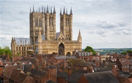 Preview wallpaper Lincoln Cathedral, England