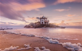 Miramar, Portugal, casa, mar