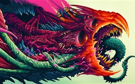 Monster, colorful, art painting