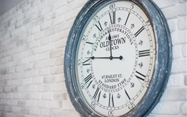 Preview wallpaper Old Town Clock, wall