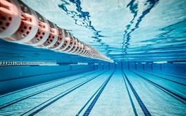 Preview wallpaper Olympic swimming pool, underwater