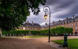 Aperçu fond d'écran Place Des Vosges, Paris, France