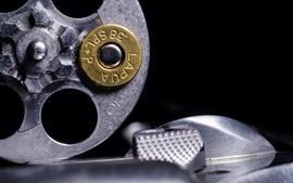 Aperçu fond d'écran Revolver, cartouche de balle