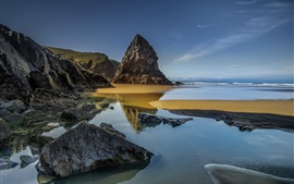 Preview wallpaper Rocks, sea, coast