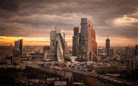 Rusia, bella ciudad, noche