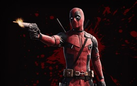 Preview wallpaper Ryan Reynolds, Deadpool 2, gun