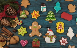 Preview wallpaper Some cookies, Christmas