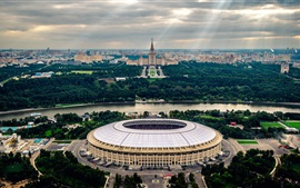Preview wallpaper Stadium, Moscow, The world Cup 2018, Russia