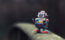 Preview wallpaper Toy robot