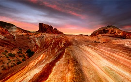 США, Невада, каньоны, пустыня