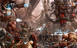 Preview wallpaper Warhammer 40000, art picture