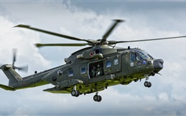 Preview wallpaper AgustaWestland AW101 helicopter